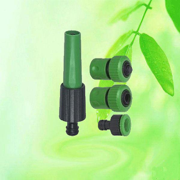 Garden hose spray nozzle gun set water
