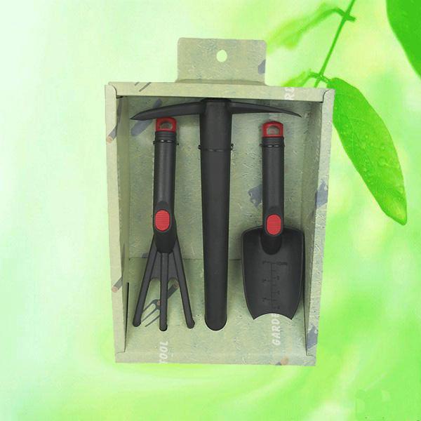 Plastic kids gardening tool set kit garden tool for Gardening tools manufacturers
