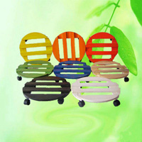 Round Flower Pot Stander Plant Mover Dolly HT4213