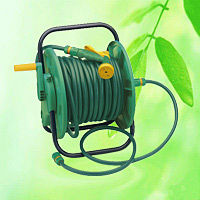 Garden Hose Reel Cart With Water Hose & Spray Nozzle HT1065