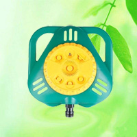 8-Pattern Stationary Plastic Watering Spray Sprinkler HT1020