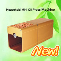 Mini Portable Household Oil Press Expeller