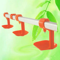 The nipple drinking system with cup are designed for broilers, layers. China factory manufacturer supplier
