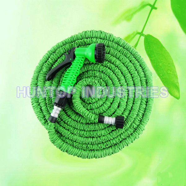 Expandable Garden Hose and Spray Nozzle Set HT1077 China factory supplier manufacturer