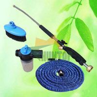 China Expandable Garden Hose With Spray Nozzle HT5079D factory manufacturer supplier