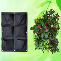6 Pocket Hanging Wall Planter HT5095