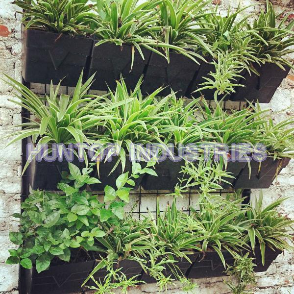 ... 9 Pocket Reinforced Square Hanging Vertical Garden Wall Planter HT5096C  China Factory Supplier Manufacturer