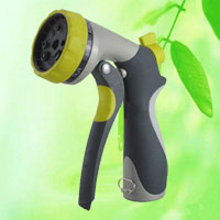 8 Pattern Heavy Duty Metal Garden Hose Nozzle Sprayer HT1350 : nozzle for garden hose - www.happyfamilyinstitute.com