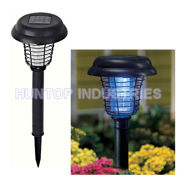 Porch Light Bug Zapper: Outdoor Solar UV Light Mosquito Insect Pest Bug Zapper