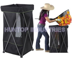 China Lawn Garden Yard Portable Bag Stand for Lawn Leaf or Trash Bag HT5434 factory manufacturer supplier