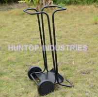 Yard Waste Bag Cart Garden Lawn Collection Cart HT5438