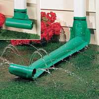 Roll Out Gutter Downspout Extension Automatic Rain