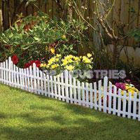 flexible garden picket lawn edging fence china manufacturer supplier