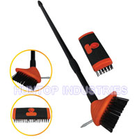 China Telescopic Wire Patio Brush with Weed Garden Scraper HT5503 factory manufacturer supplier