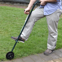 Outdoor Rolling Garden Easy Lawn Edger HT5414