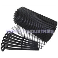 China Roll Plastic Mesh Gutter Guards HT5614A factory manufacturer supplier