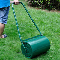 Heavy Duty Water-Filled Lawn Rollers Steel HT5419