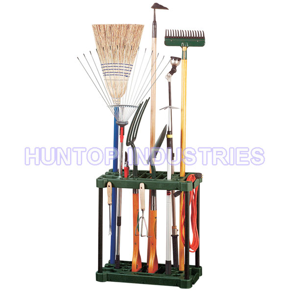 Garden tool storage rack wheeled tool holder china for Garden tools manufacturers