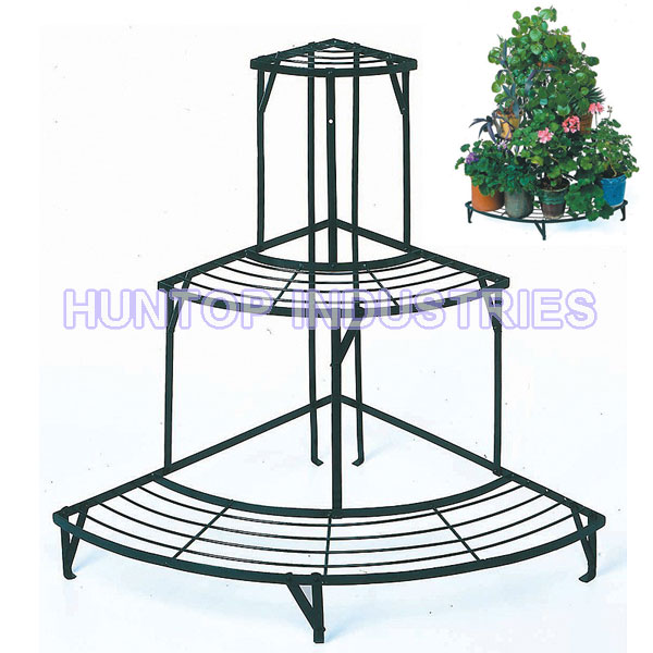 ... 3-Tier Metal Corner Garden Potted Plant Stand HT5602 China factory  supplier manufacturer