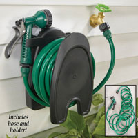 Wall Mounted Garden Hose with Holder Set HT1068A