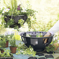 Plastic Easy Fill Hanging Planter Baskets HT5126