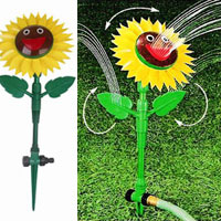 Smiling Spinning Sunflower Sprinkler HT1024M