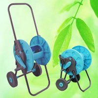 China Foldable-Handle Garden Hose Reel Cart HT1376B factory manufacturer supplier