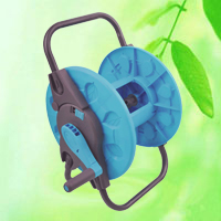 China Plastic Portable Garden Hose Reel Trolley HT1375B factory manufacturer supplier