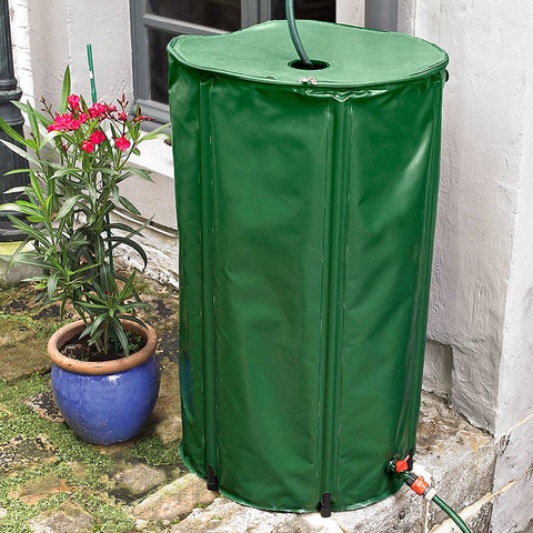 China Flexible Collapsible PVC Rain Water Barrel HT1115A  factory manufacturer supplier