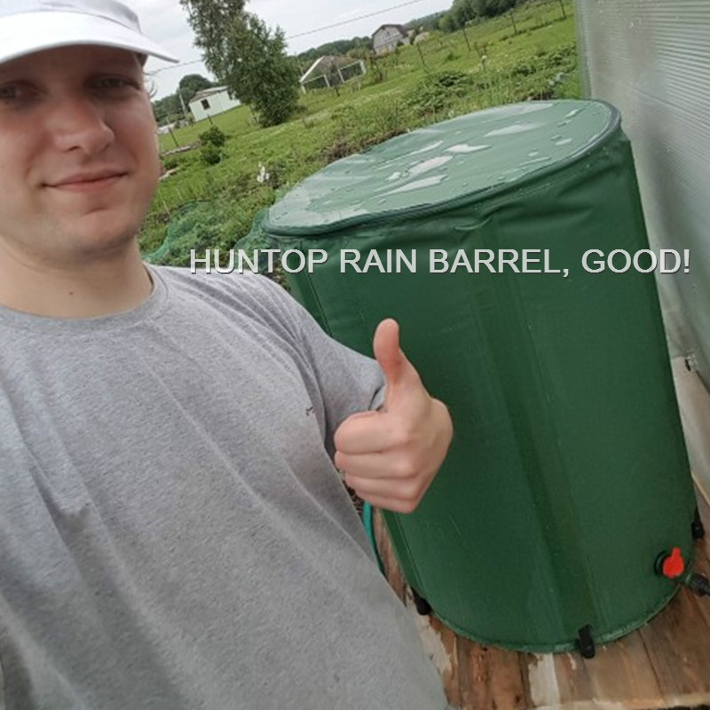 China Collapsible Rain Barrel PVC Tarpaulin Water Tank HT1115 factory manufacturer supplier