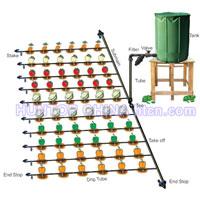 500sqm Self Watering Farm Drip Irrigation Kit China