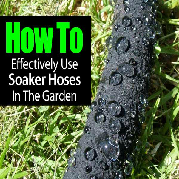 garden soaker hose irrigation kit