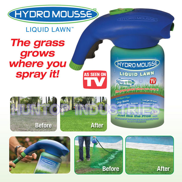 Hydro Mousse Liquid Lawn Seeder