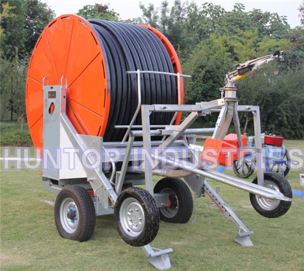 Retractable Sprinkler Hose Reel Irrigation System China