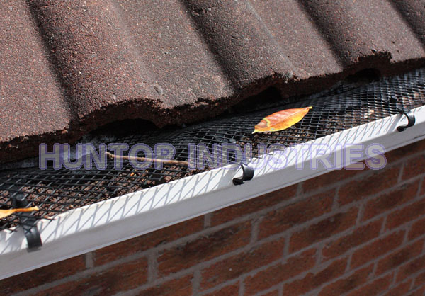 Roll Plastic Mesh Gutter Guards Leaf Filter Gutter Guard